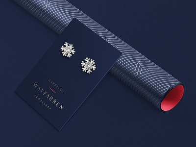 Earrings Packaging Concept store retail fashion luxury brand logo identity packaging branding jewelry