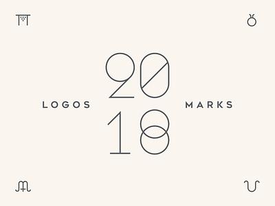 Logo Collection 2018 logos logoseeker identity sign gallery collection symbol monogram mark logo brand icon branding