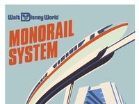 Disney Monorail
