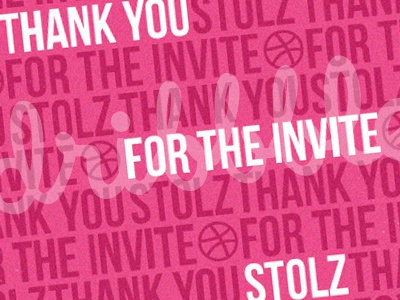 Thank you Stolz ketov stolz invite