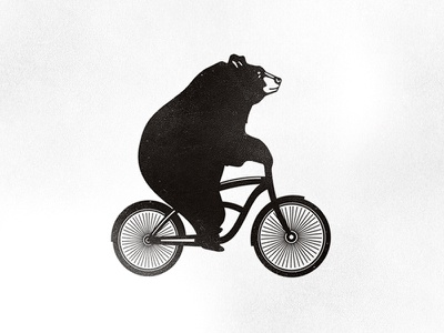 Kruzenstern bears bike bicycle bear ketov logo rent andrey ketov bearslogo