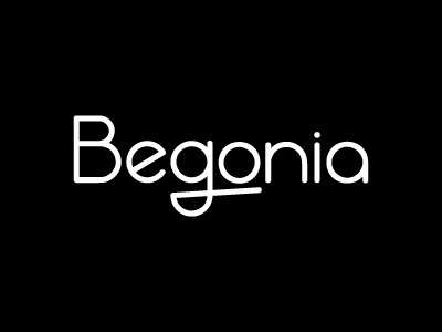 Begonia logo begonia