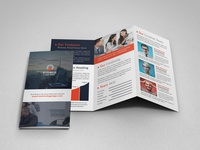 Corporate Finance Trifold Brochure