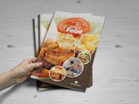Food Restaurant Bifold Brochure