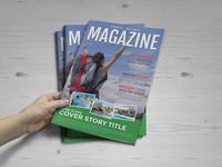 Travel Agency Magazine Brochure