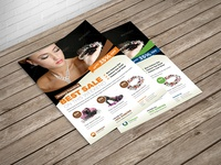 Jewellery Shop Promotion Flyer Template