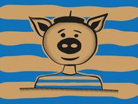 Picasso Pig #1