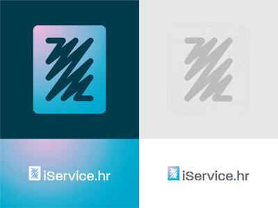 iService logotype