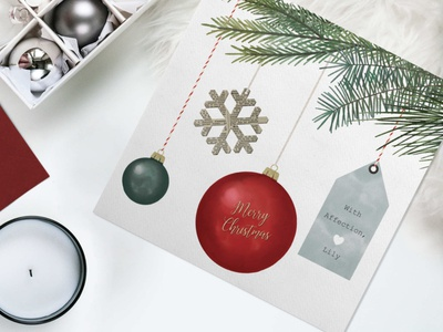 Christmas hangings vintage card festive red and green hanging label pine natural merrychristmas merry xmas snowflake greetingcard greetings christmas ball christmas card christmas