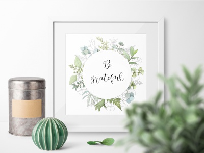 Greenery wreath with fern and eucalyptus boho turquoise logo illustration design illustration herbal foliage girls birth announcement wedding announcement olive tree leaves laurel eucalyptus fern black sketch aquacolor teal mint green nature design fresh greenery wreath