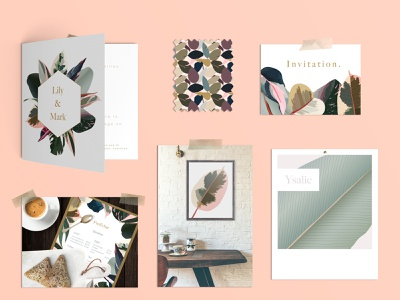 Pink tropical leaves geometric design lichen color minimaliste teal pink tropical pattern tropical border pink leaves scandinavian tropical design monstera urban jungle tropical leaves