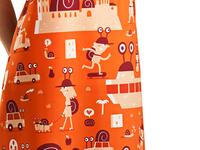 An apron for Lleida (The Snail Festival!)