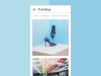 Daily UI #069 - Trending