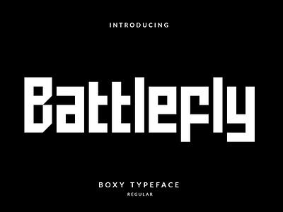 Battlefly Font logo typeface illustration vector handmade handlettering design typography lettering font