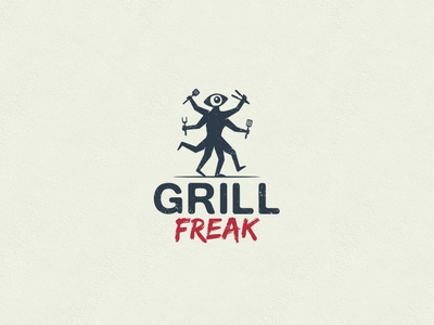 Logo for Grill Freak.