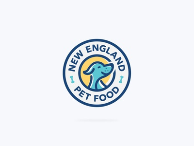 Logo for the producer of natural dog food.