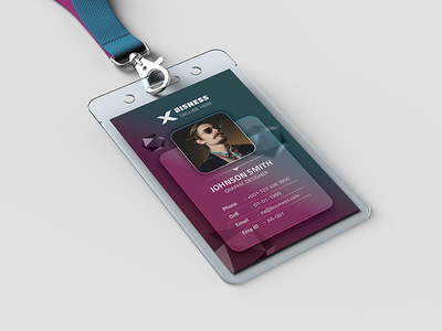 ID Card smart objects smart random promotion professional premium photography id card photo id card office id card modern miscellaneous marketing id card id graphic display colorful id card clean