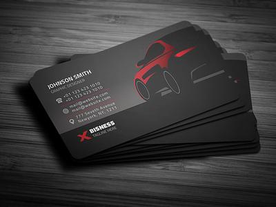 Rent A Car Business Card rent a car