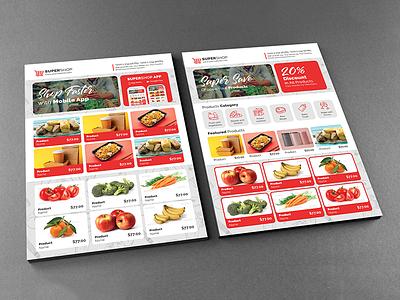 Supermarket Flyer price