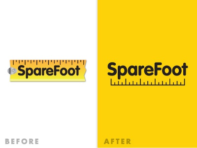 Growing Up identity logo yellow