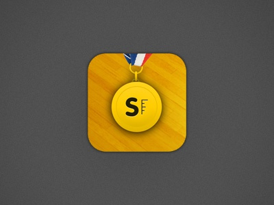 SpareFoot Arena app icon yellow