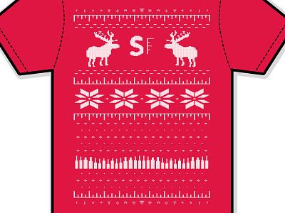 SpareFoot Sweater Tee christmas moose sweaters