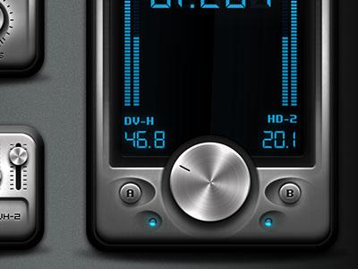 Metal User Interface Elements