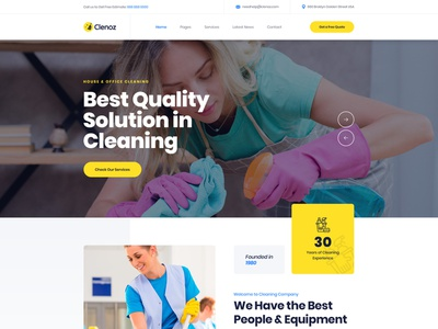 Cleaning Services WordPress Theme web web design wordpress theme cleaning wordpress theme cleaning company cleaning service