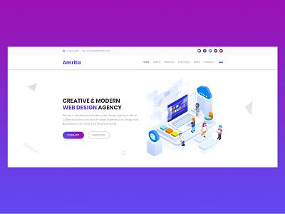 Webdesign Inspiration web flat typography design illustration ux web design