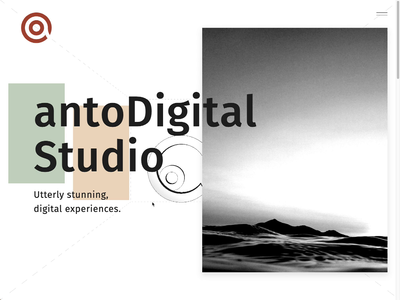 antoDigital 3D logo