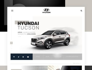 Hyundai Tucson 2018 Color Adaptation Website Design