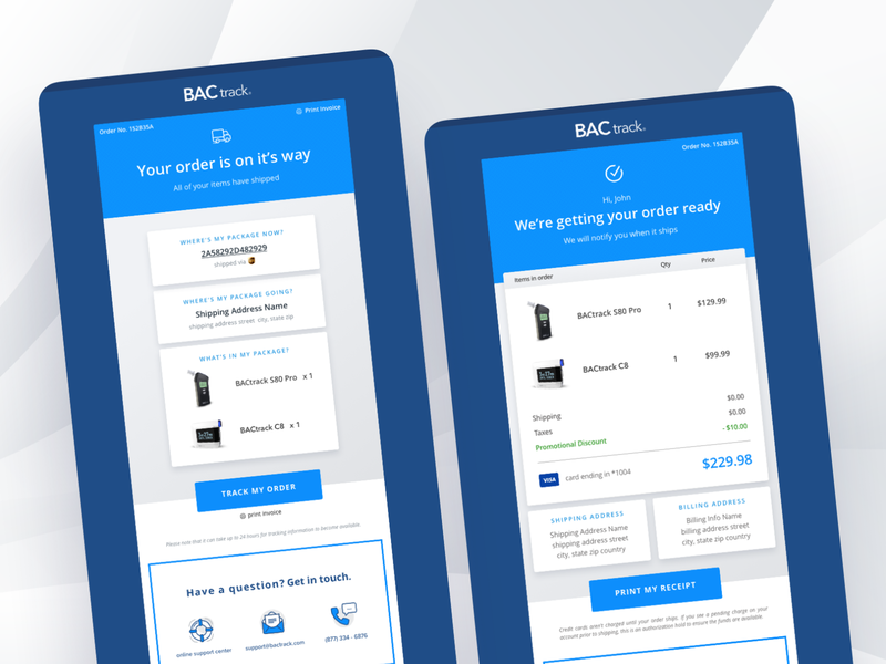 Shopify Transactional Notifications email development email email marketing email design direct to consumer dtc ecommerce shipping confirmation order confirmation transactional email transactional shopify plus