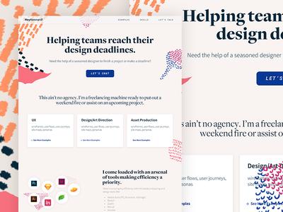 HeyKennard! Branding/Landing Page website typography texture web app textile design ui illustration digital african branding