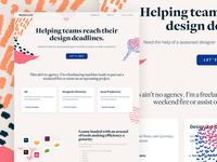 HeyKennard! Branding/Landing Page