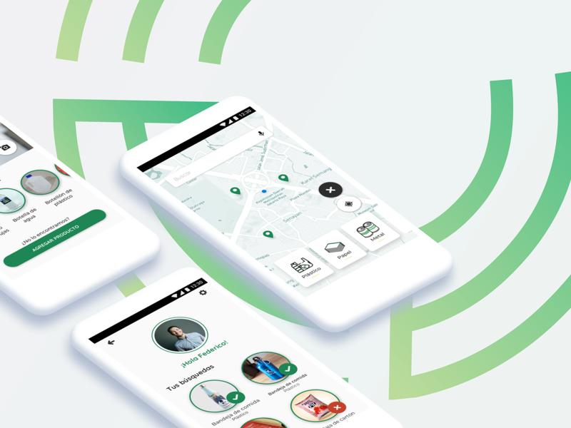 Recycle App Shot