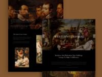 website for western art