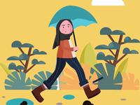 afrer rain