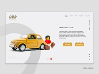Lego   Home  Dribbble