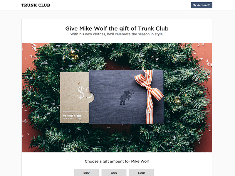 Holiday promotion landing page black friday ui web responsive holiday landing page