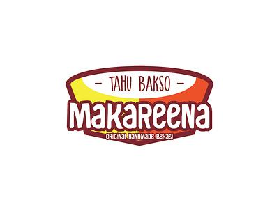 Tahu Bakso MakaReena food logo logos logo