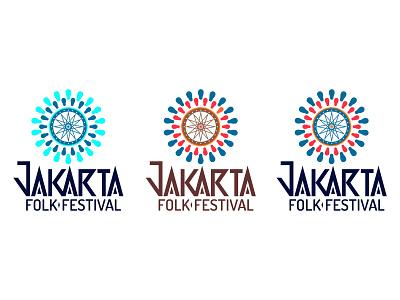 Jakarta Folk Festival typography logo music musicfestival jakartafestival