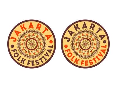 """Jakarta Folk Festival """" Design 3 """""""