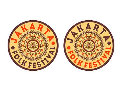 """Jakarta Folk Festival """" Design 3 """" web branding musicfestival music logo jakartafestival"""