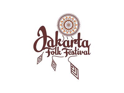 """Jakarta Folk Festival """" Design 5 """" web musicfestival music logo jakartafestival"""