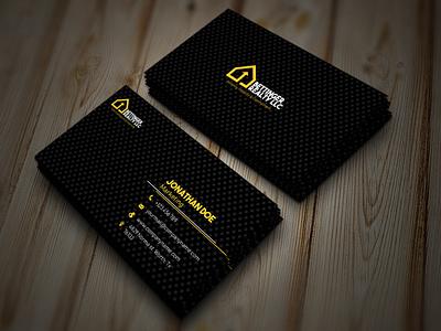 Design Card Name Property property card name design business card branding web logo