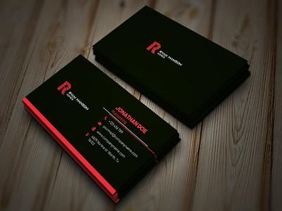 Design Card Name Property business card template free business cards business card mockup business card design icon typography property card name card name web business card branding logo