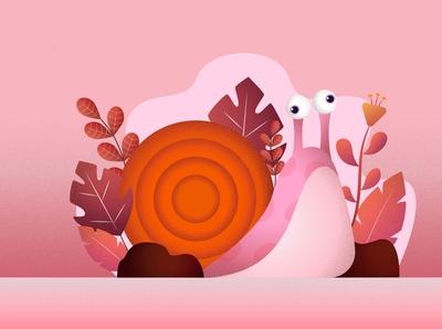 Pinky Snail