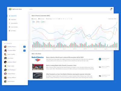 Analytics Dashboard fintech stats statistics graph visualization analytics chart finance dashboard web design app ux ui