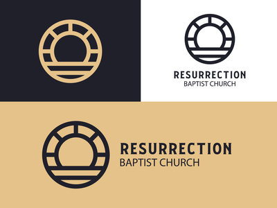 Ressurection Baptist church branding