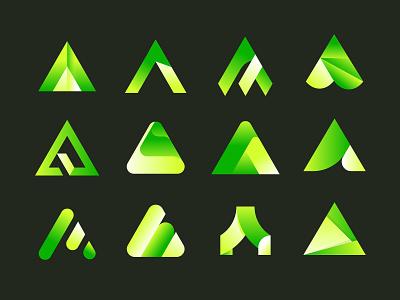 A concepts no 2 a concepts concept logo mark logo design mark vector branding identity brand logo